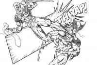 Gypsy Coloring Pages - Deadpool Vs Wolverine Digital Pencils by Ram by Ramstudios1