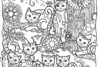 Halloween Cat Coloring Pages - Pin by Karen Hano On Adult Coloring Pages Pinterest