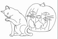 Halloween Cat Coloring Pages - Spider Coloring Pages Collection thephotosync