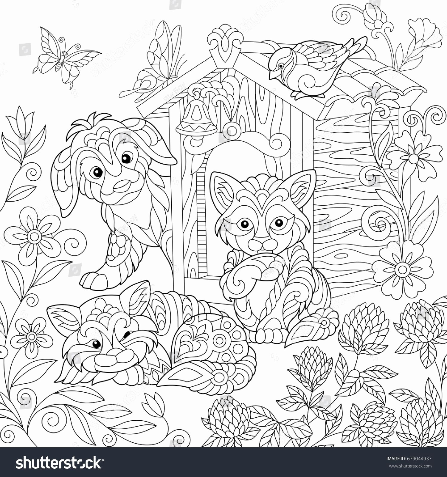 Halloween Cat Coloring Pages  Gallery 8i - To print for your project