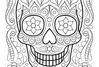 Halloween Skull Coloring Pages - 11 Unique Sugar Skull Coloring Pages