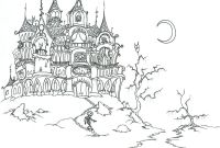 Halloween Skull Coloring Pages - Adult Vampire Coloring Pages