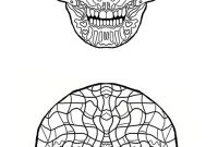 Halloween Skull Coloring Pages - Print Your Own Plciated Coloring Sugar Skull Coloring Pages