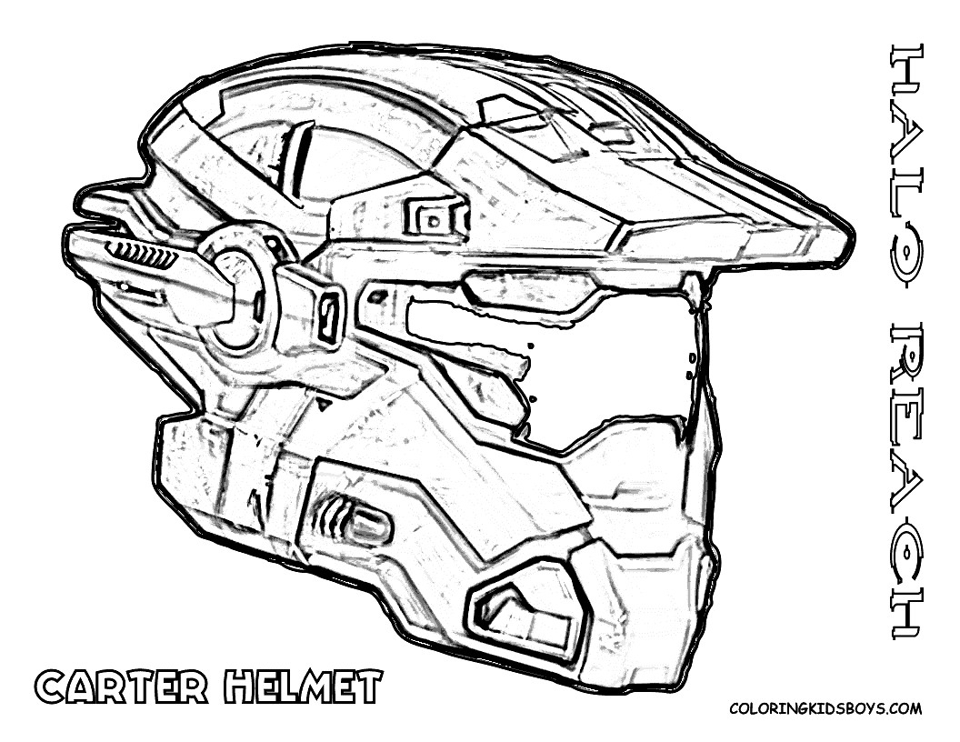 Halo Coloring Pages to Print  Gallery 3r - To print for your project