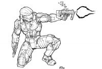Halo Coloring Pages to Print - New Halo Coloring Page – Free Coloring Sheets