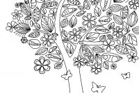 Hamilton Musical Coloring Pages - Coloring Page World Tree Coloring Page with Flowers and