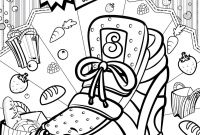 Hans Coloring Pages - Coloriage Shopkins Sneaky Wedge Dessin   Imprimer