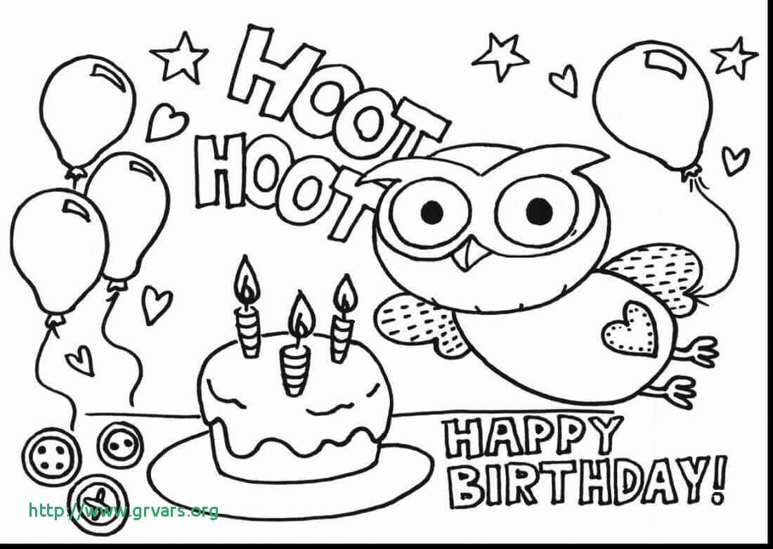 Happy Birthday Card Coloring Pages  Download 12h - To print for your project