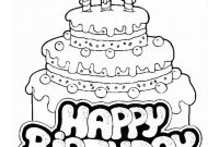 Happy Birthday Mommy Coloring Pages - Happy Birthday Cards Coloring Pages