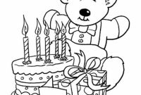 Happy Birthday Mommy Coloring Pages - Happy Birthday Mom Coloring Page