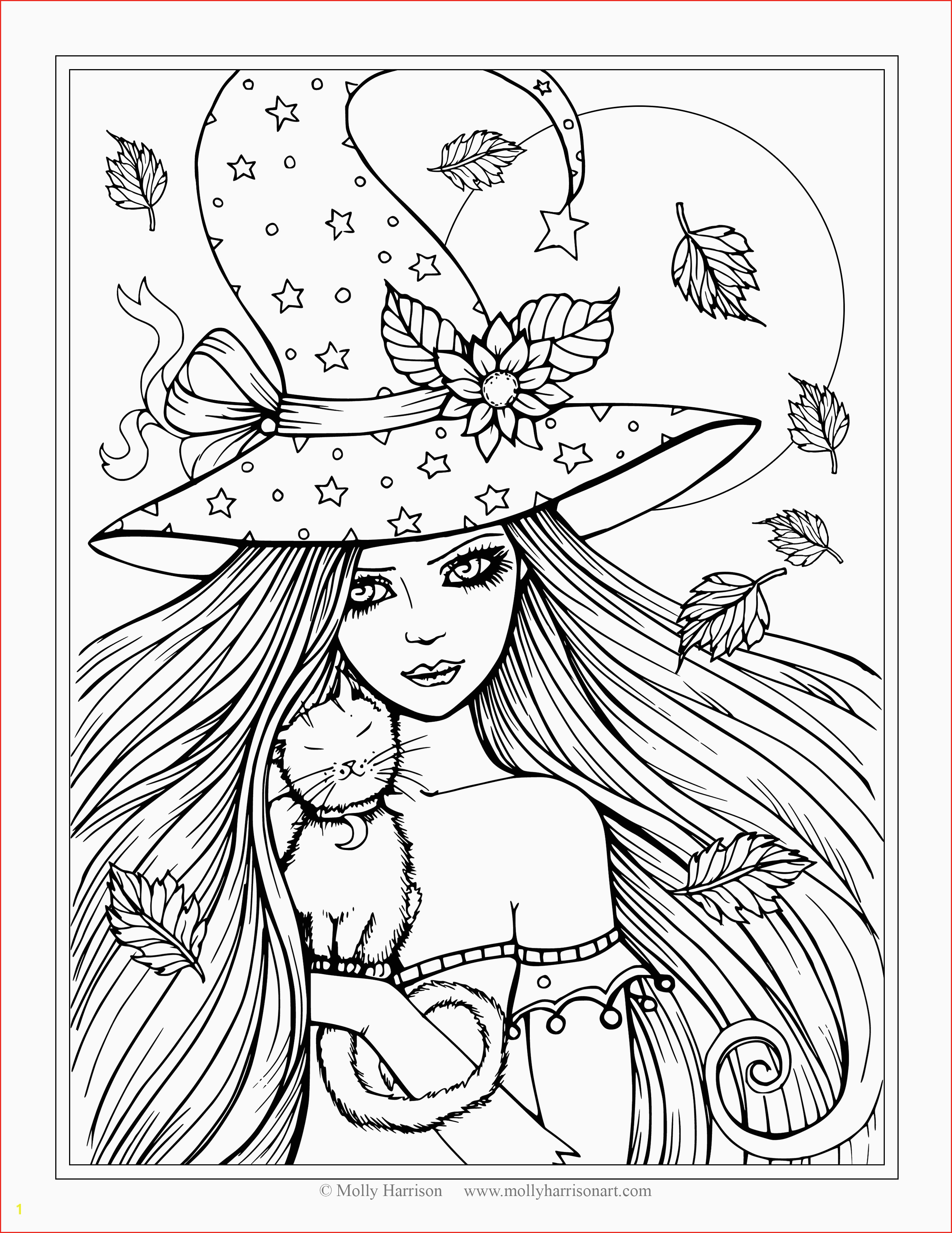 Hat Coloring Pages  Collection 2g - To print for your project