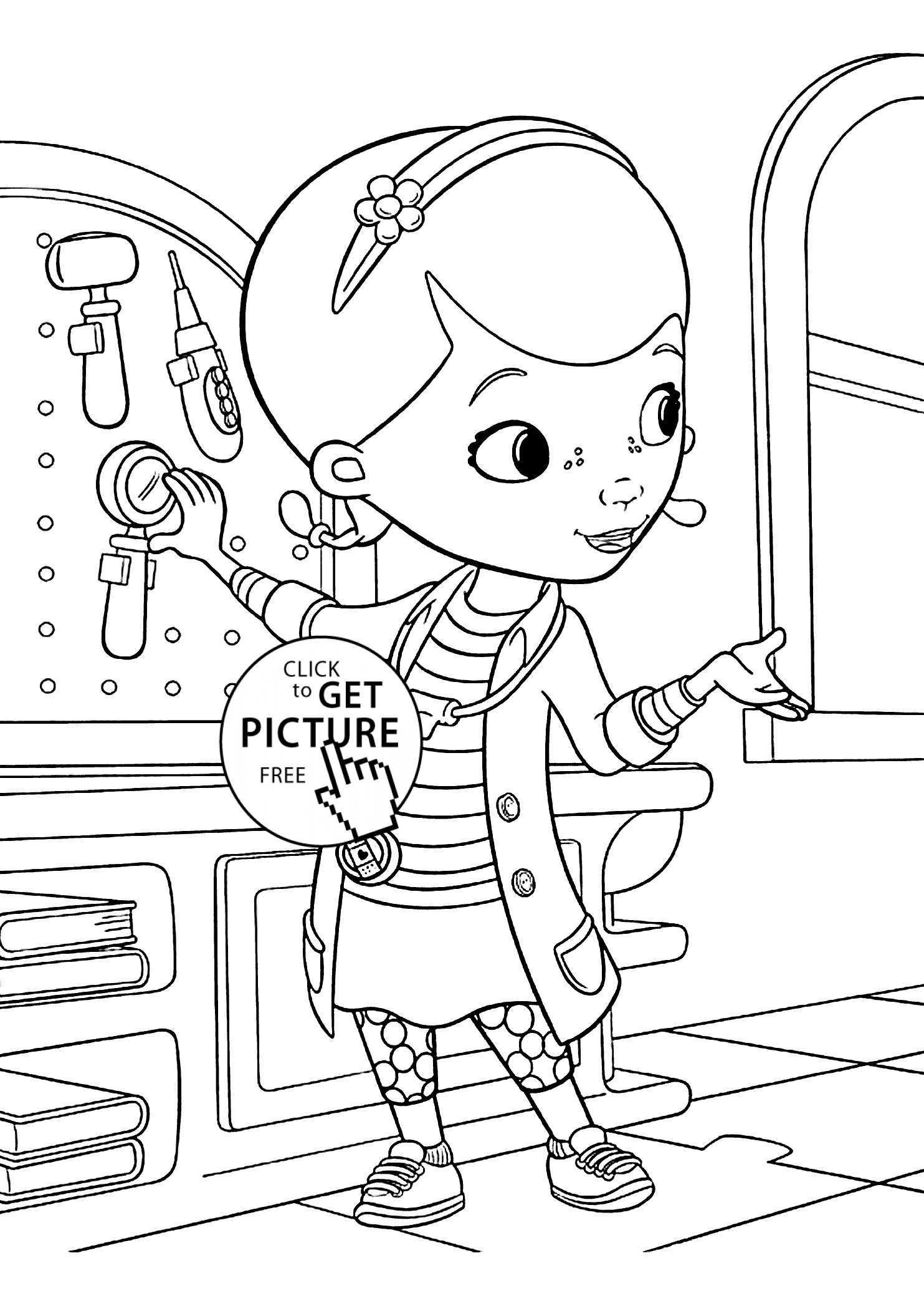 Hospital Coloring Pages Printables  Download 3r - Free For Children