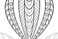 Hot Air Balloon Coloring Pages - Dreamcatcher Coloring Page Mikalhameed