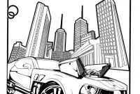 Hot Wheels Coloring Pages - Free Printable Hot Wheels Coloring Pages for Kids