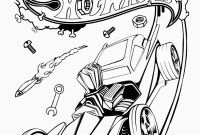 Hot Wheels Coloring Pages - Hot Wheels Racing League Hot Wheels Coloring Pages Set 4