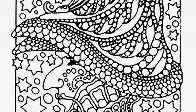 How to Make Coloring Pages - Easy and Fun Flame Coloring Page