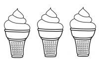 Ice Cream Coloring Pages - How to Draw Ice Cream