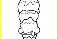 Icecream Cone Coloring Pages - Best Ice Cream Scoop Coloring Pages Umrohbandungsbl