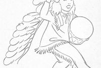 Indian Coloring Pages - Little Indians to Color Coloring Books Vintage 1