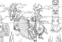 Indian Coloring Pages Printables - Best Coloring Page Native American Girl Katesgrove