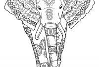Indian Coloring Pages Printables - Indian Elephant Coloring Pages Printableindian Elephant Coloring