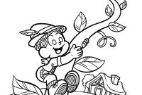 Jack and the Beanstalk Coloring Pages Free - Historia Joao Pe De Feijao Google Search
