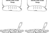 Jacob and Esau Coloring Pages - Jacob and Esau Coloring Page