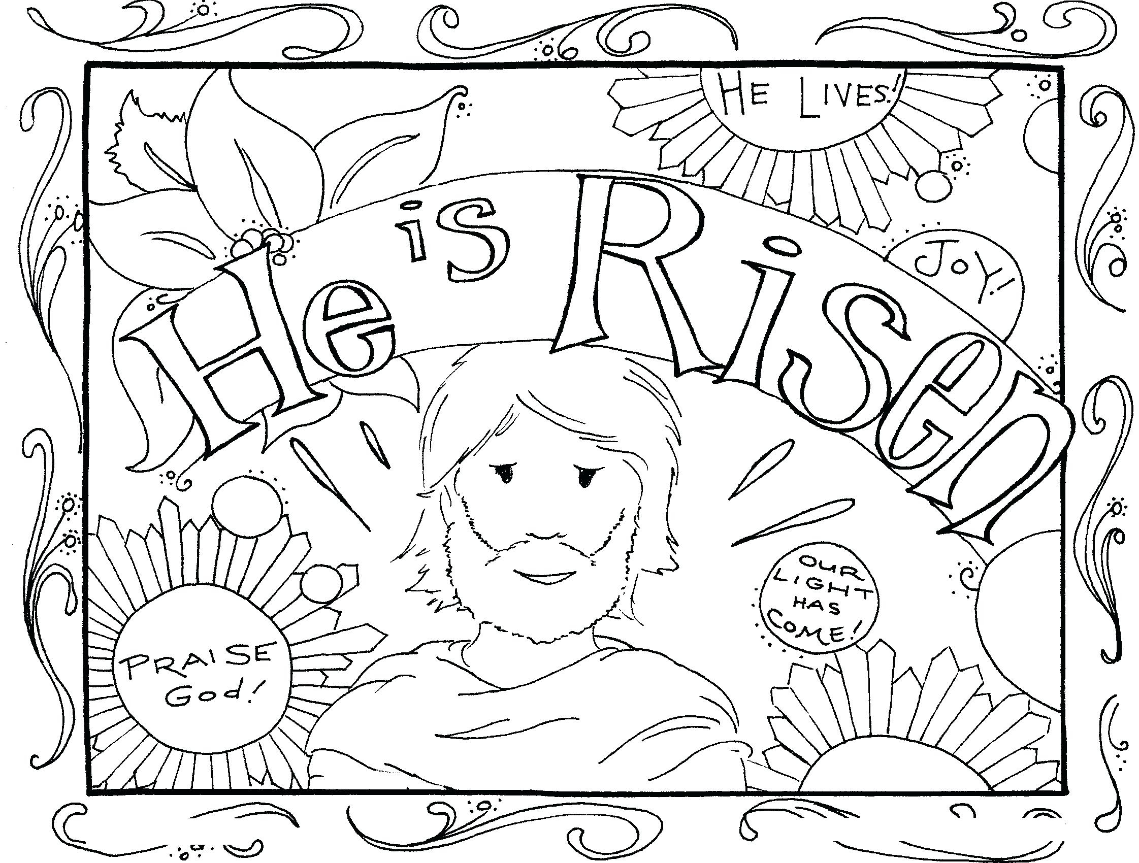 Jacob and Esau Coloring Pages to Print | Free Coloring Sheets