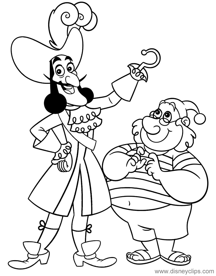 Jake and the Neverland Pirates Coloring Pages  to Print 4f - Save it to your computer