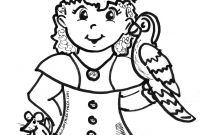 Jake and the Neverland Pirates Coloring Pages - Girl Pirate Coloring Page