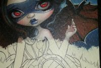 Jasmine Becket Griffith Coloring Book Pages - Adult Colouring Book Jasmine Becket Griffith Coloring In Aussie