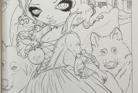 Jasmine Becket Griffith Coloring Book Pages - Angels Coloring Book Mikalhameed