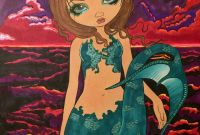 Jasmine Becket Griffith Coloring Book Pages - From the Jasmine Becket Griffith Color Book Colored by Jessica