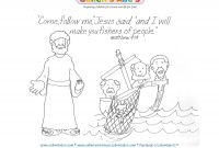 Jesus Calling His Disciples Coloring Pages - 12 Disciples Coloring Page Mikalhameed