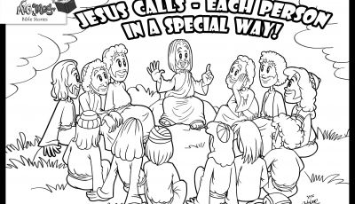 Jesus Calling His Disciples Coloring Pages - Jesus and the Disciples Coloring Pages Coloring Pages Coloring Pages