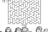 Jesus Calling His Disciples Coloring Pages - Jesus Chooses His 12 Disciples Bible Mazes This 12 Disciples Bible