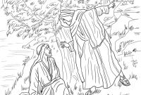 Jesus Calling His Disciples Coloring Pages - Jesus Walking Water Coloring Page Idig