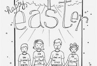 Jesus Coloring Pages Pdf - Christian Easter Coloring Pages format Religious Easter Coloring