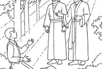 Jesus Coloring Pages Pdf - the First Vision Joseph Sees God the Father and Jesus Christ