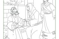 Jesus Heals Coloring Pages - Jesus Heals the Blind Man Coloring Page Peter Heals the Lame Man