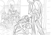 Jesus Heals Coloring Pages - Ten Lepers Coloring Page Jesus Heals 10 Lepers Coloring Page Awesome
