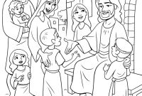 Jesus Loves Children Coloring Pages - Jesus with Children Coloring Page New Magnificent Children Colouring