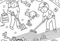 Jesus Loves the Little Children Coloring Pages - Kids Gardening Coloring Pages Free Colouring to Print