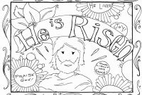 Jesus Loves the Little Children Coloring Pages - Religious Easter Bible Coloring Pages Free Printable Coloring