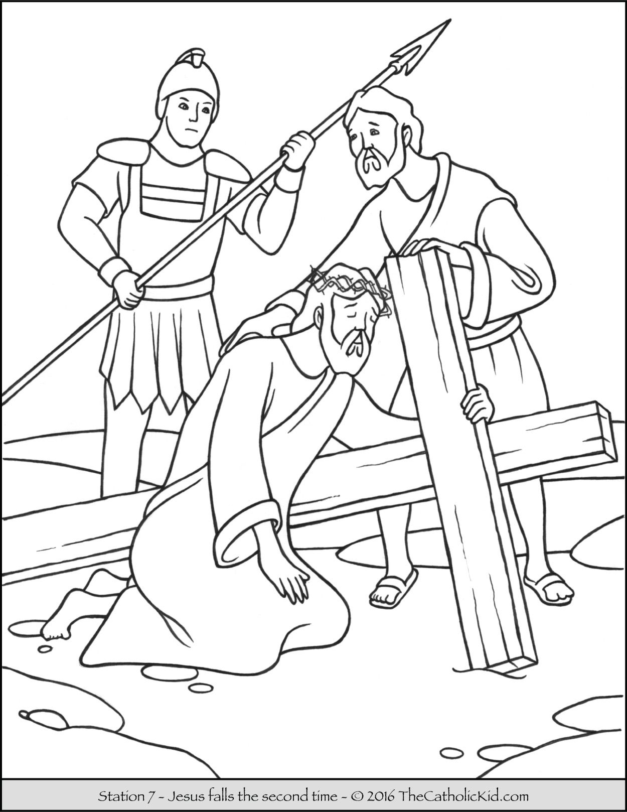 Jesus Loves the Little Children Coloring Pages  Printable 12h - Free Download