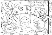 Jesus Resurrection Coloring Pages - Christian Easter Coloring Pages Inspirationa Printable Chronicles