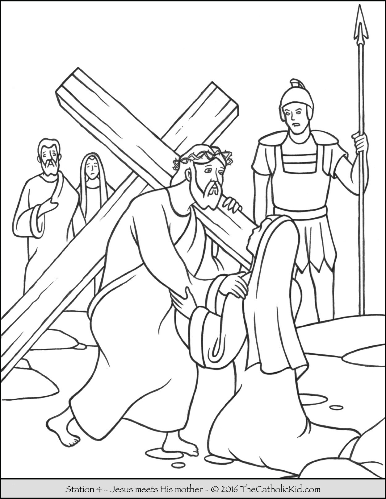 Jesus Resurrection Coloring Pages  to Print 6f - Free Download