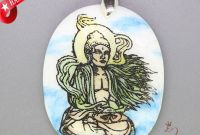 Jewelry Coloring Pages - Fashion Necklace Coloring Buddha Pendant White Gemstone Zl
