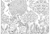 Johanna Basford Coloring Pages - Amazon Enchanted forest Postcards 20 Postcards