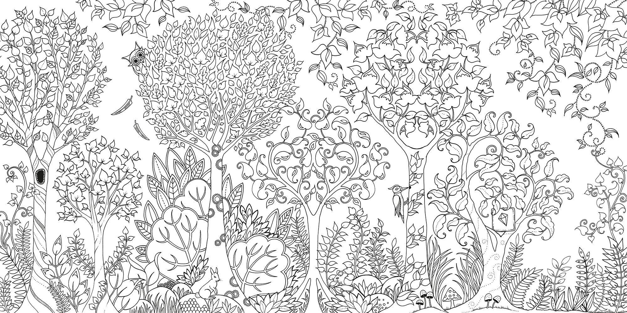 Johanna Basford Coloring Pages  Collection 19k - Save it to your computer